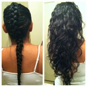Curl Your Hair without Heat Pictures