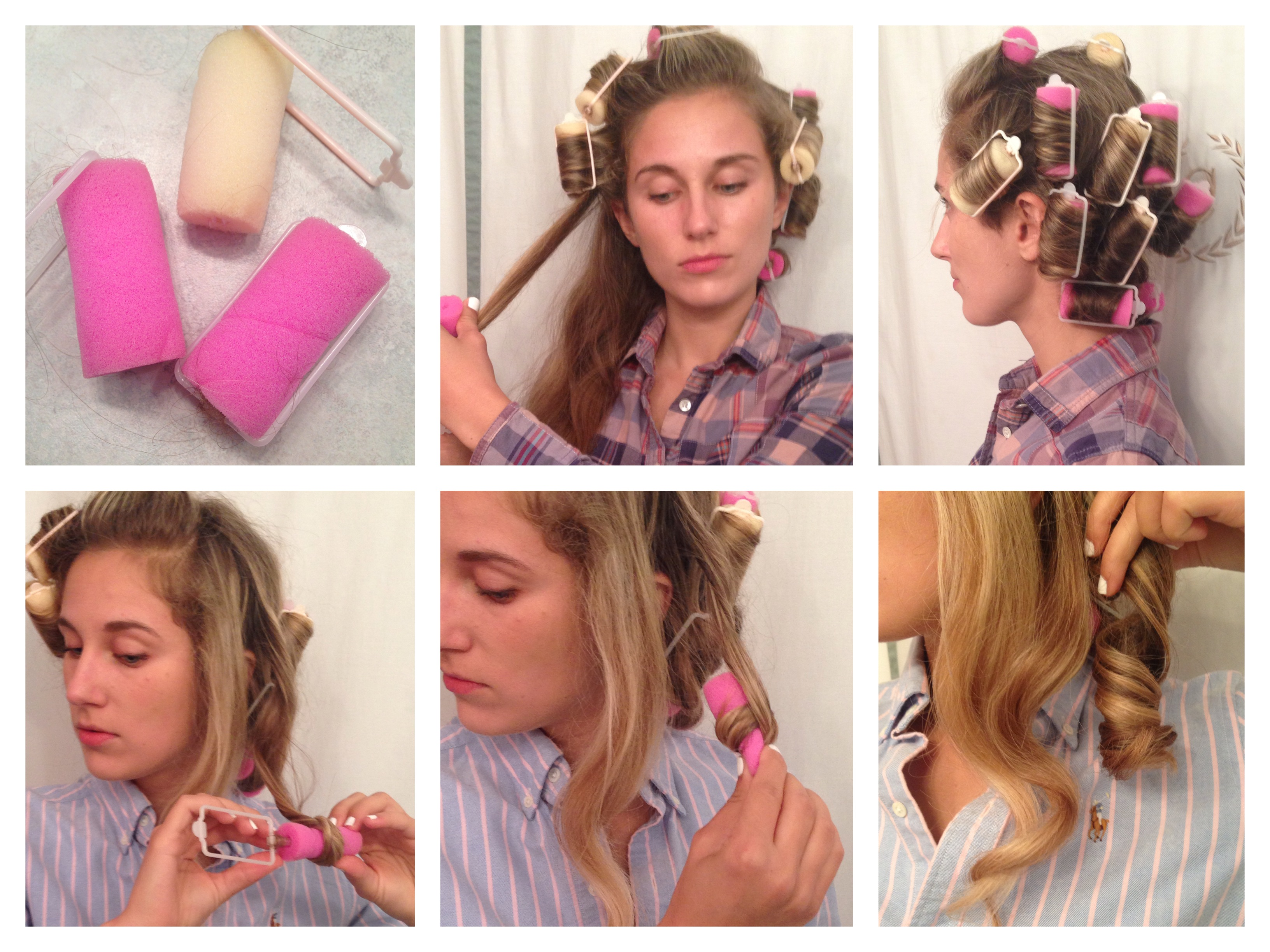 how to style your hair with rollers how to curl your hair without heat style wile 8201