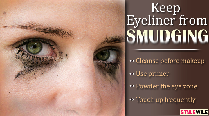 How to Keep Eyeliner from Smudging Pictures