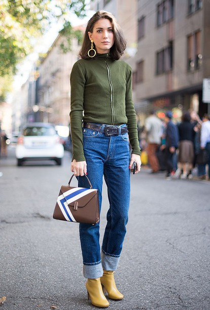 How to Cuff Boot Cut Jeans