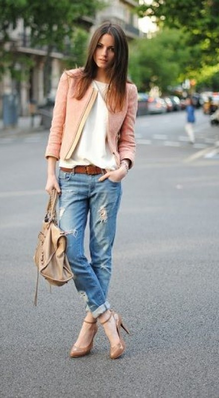 Pinroll Jeans
