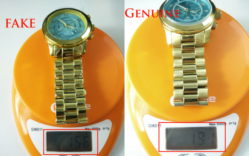 Difference Between Original and Fake MK Watches