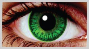 Emerald Green Eye Contacts for Dark Brown Eyes