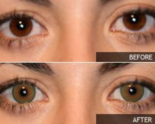 Dark Green Eye Contacts Green Contacts ...