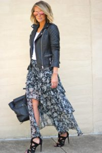 How to Dress Up a Maxi Skirt