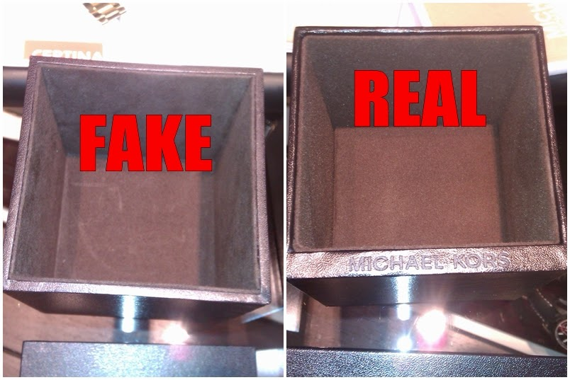 How to Spot a Fake Michael Kors Watch