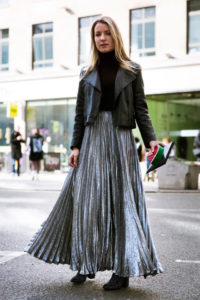 How to Wear Maxi Skirt