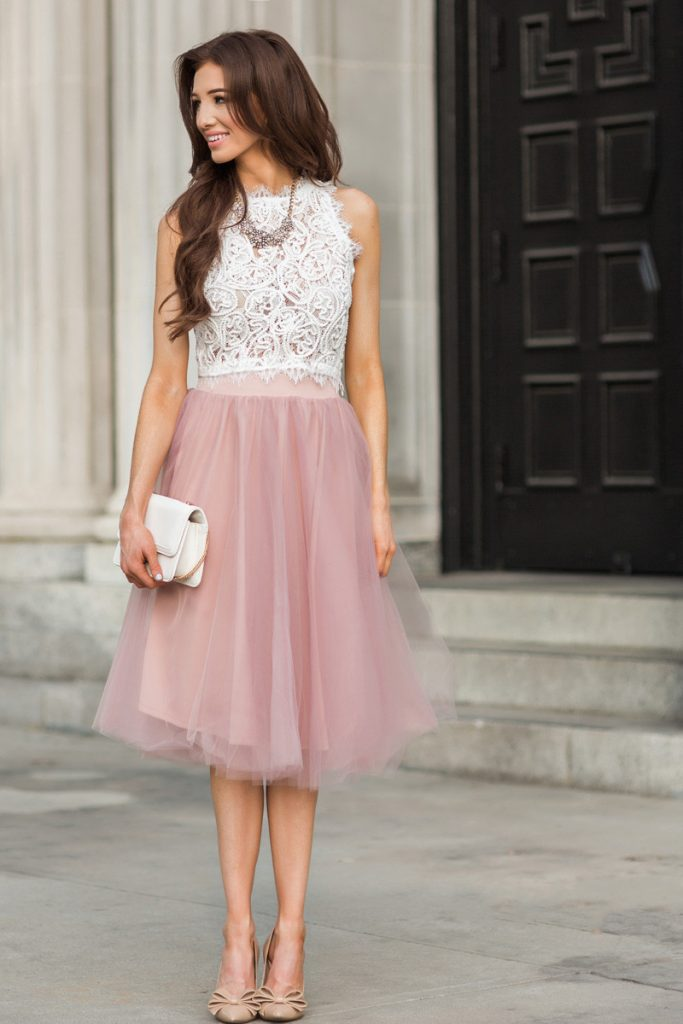 How to Wear Tulle Skirt