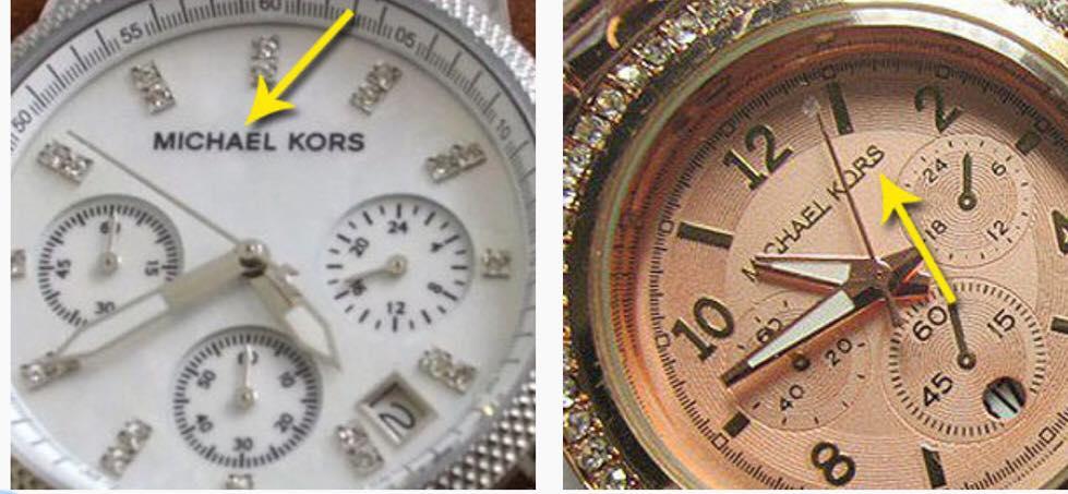 32945c9867f 20 Ways to Spot a Fake Michael Kors Watch