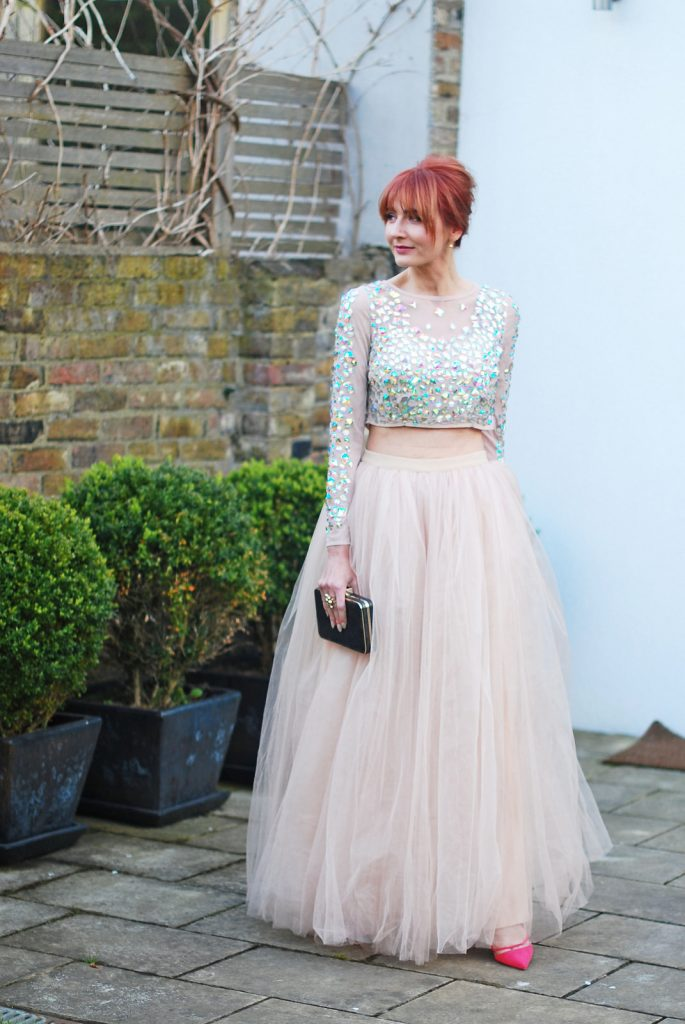 Top to Wear with Tulle Skirt