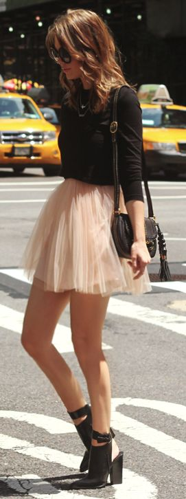 Tops to Wear With Tulle Skirts