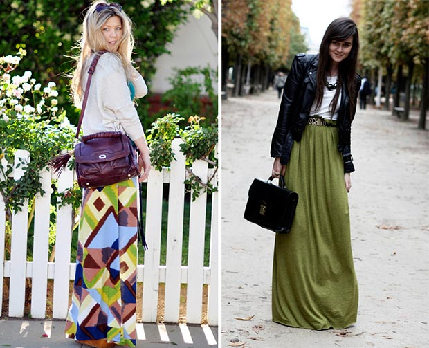 7b871bb771ed How to Wear a Maxi Skirt | StyleWile
