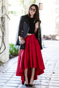 What Top to Wear with Maxi Skirt