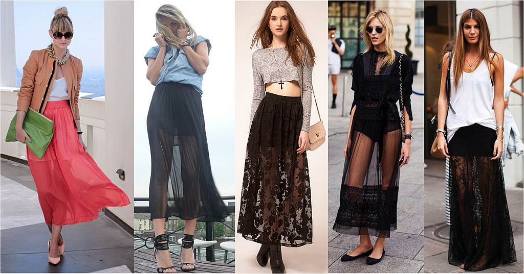 How To Wear A Maxi Skirt Stylewile
