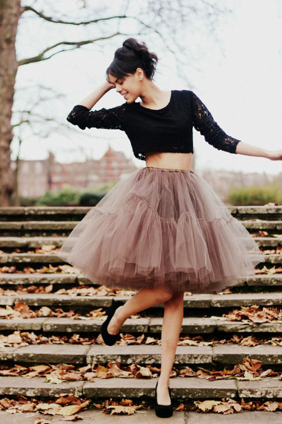 What to Wear with Tulle Skirts
