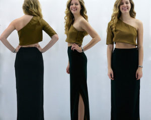 What to Wear with a Black Maxi Skirt