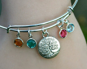 Birthstone Charm Bracelet