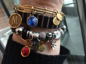 Stacked Bangle Bracelets
