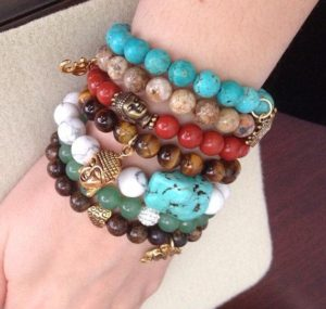 Stacked Beaded Bracelets