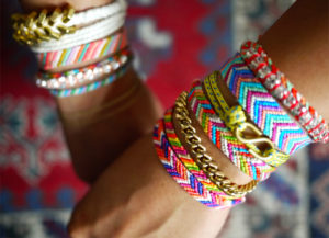 Stacked Friendship Bracelets