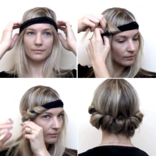 Black Scarf Headbands How to Wear