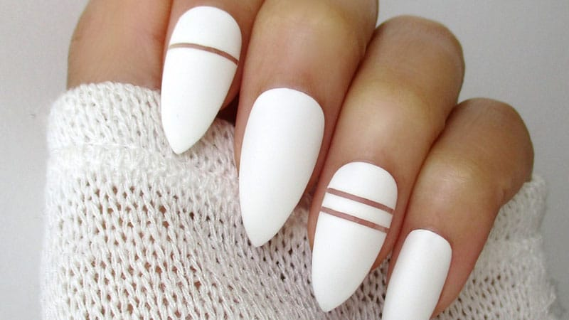how to shape cute almond nails style wile