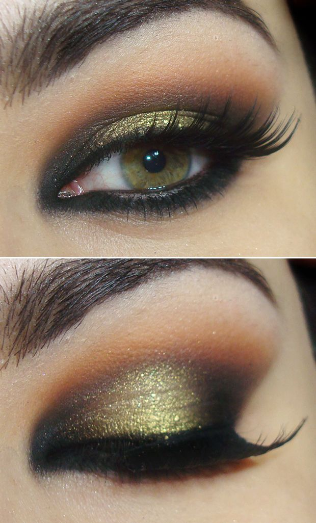 Smokey Eye Makeup: How To Do A Smokey Eye Makeup For Green Eyes