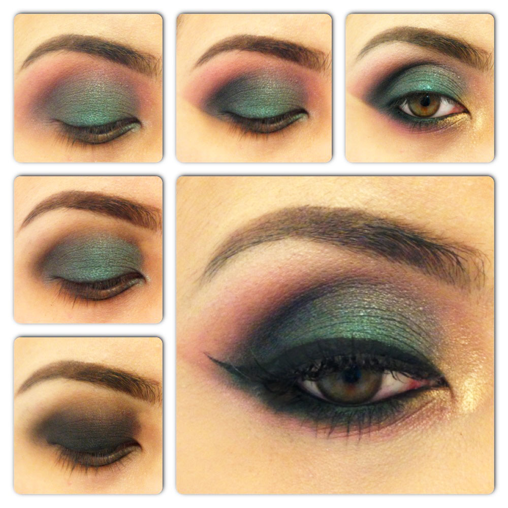 How to Do a Smokey Eye Makeup for Green Eyes