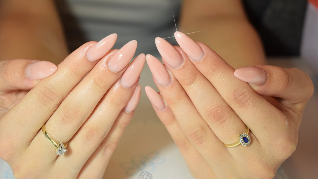 How To Shape Almond Nail