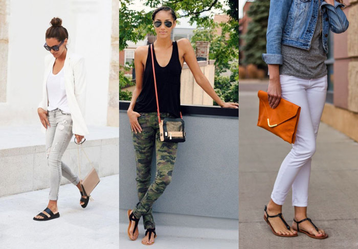 Comfortable Shoes to Wear with Skinny Jeans