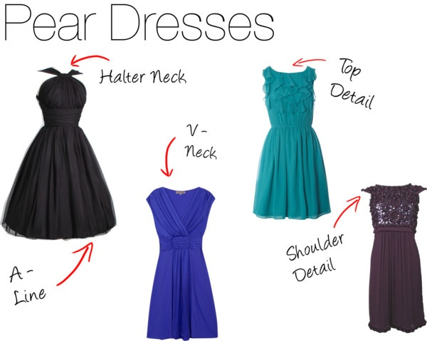 Dresses for Pear Shaped Body