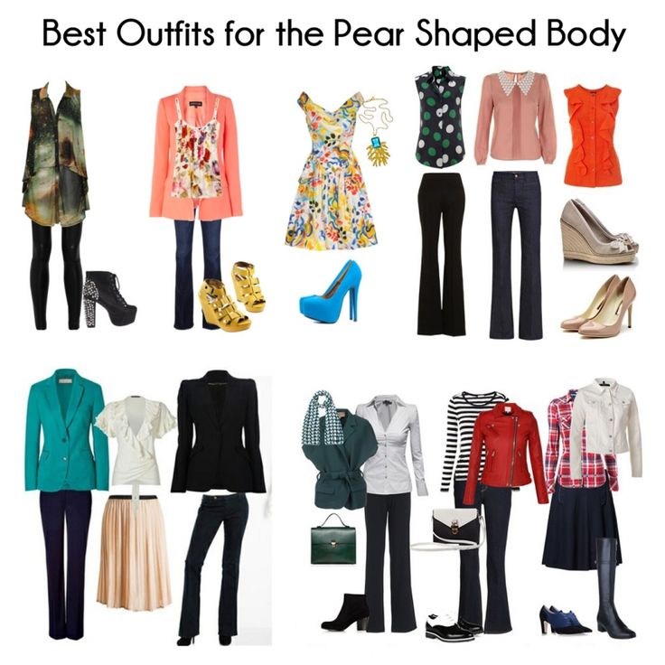 Pear Shaped Body Clothes