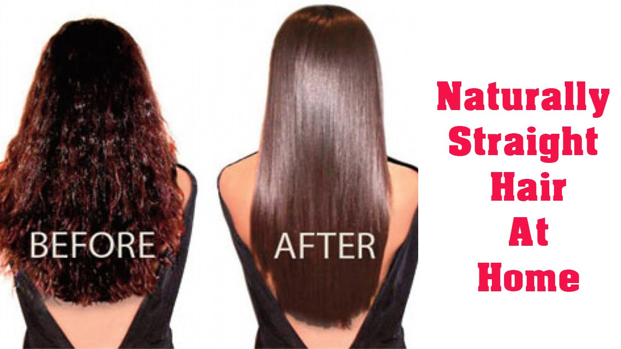 How to Straighten Curly Hair Without Heat