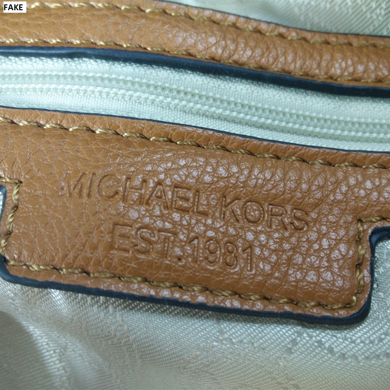 12b38045b783 How to Spot Fake Michael Kors Bags | StyleWile