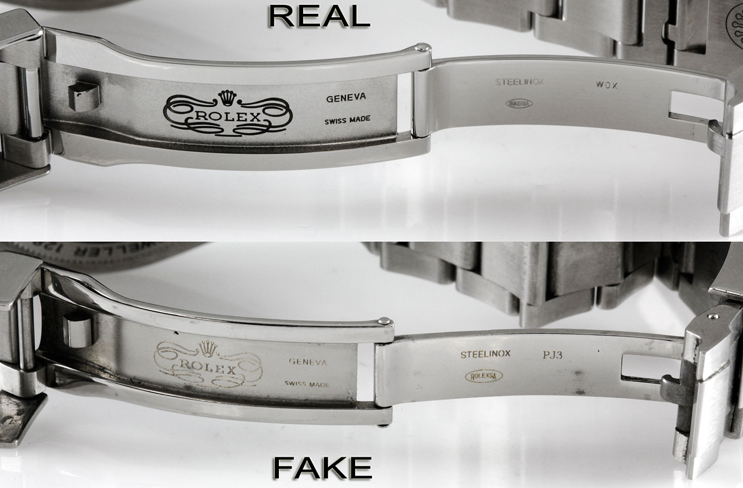 How to Spot a Fake Rolex Band