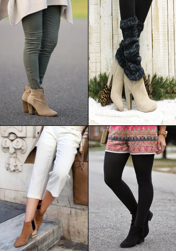 How to Wear Ankle Boots with Leggings