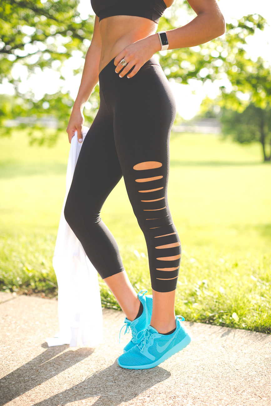 Leggings with Sneakers