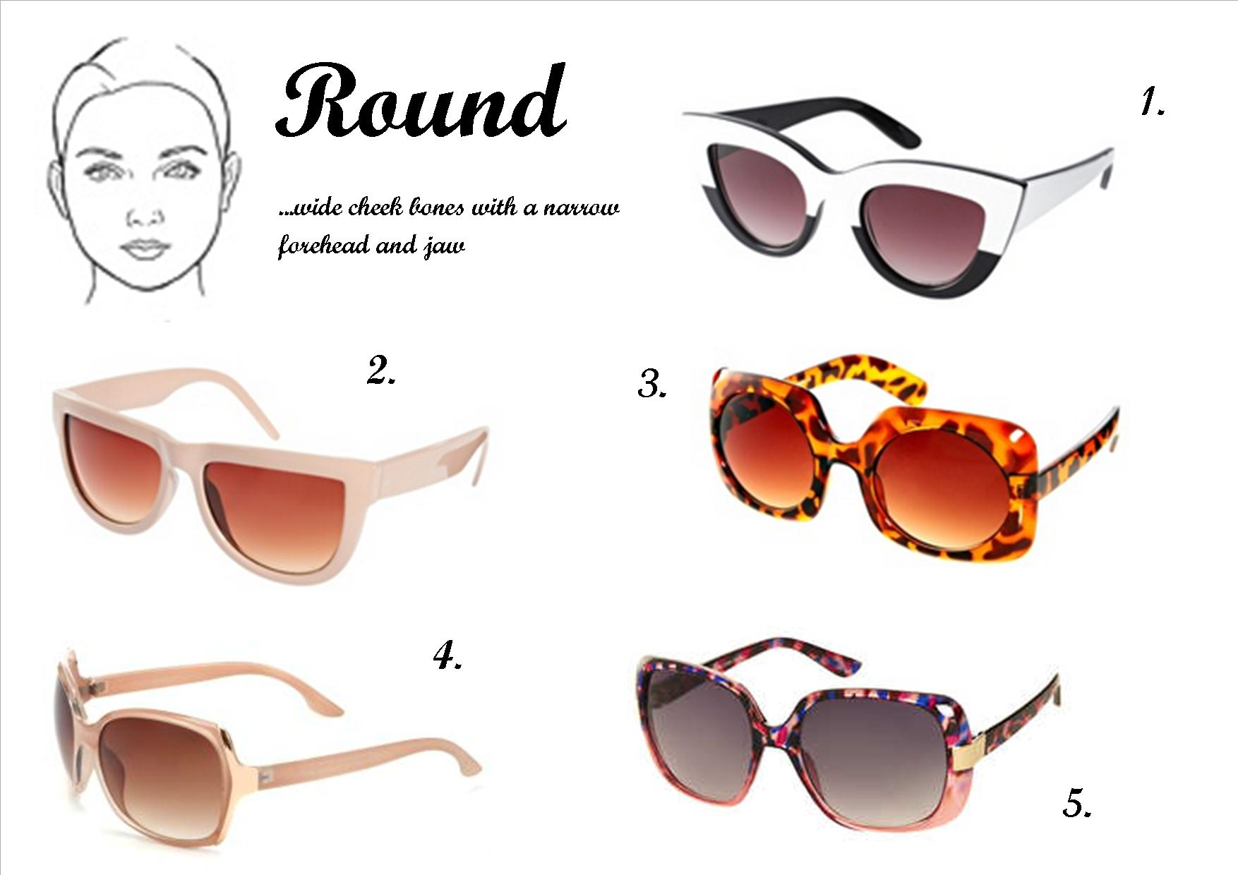 Best Sunglasses For Females With Round Faces Style Wile