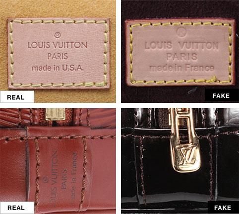 How to Tell a Real Louis Vuitton Bag