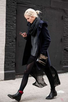 How to Wear Chelsea Boots with Socks