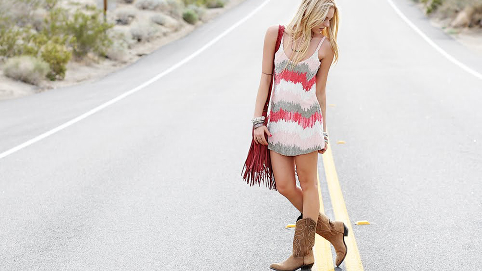 Dresses To Wear With Cowboy Boots Stylewile