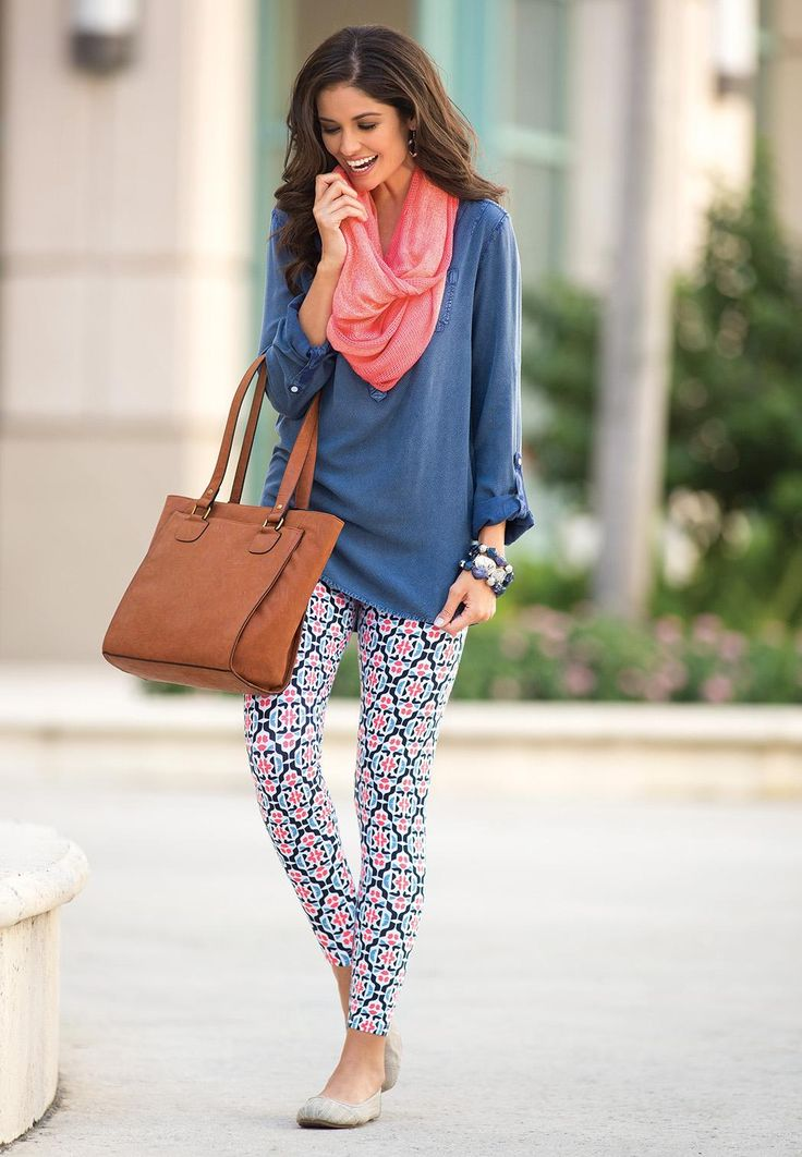 Long Tunic Tops to Wear with Leggings