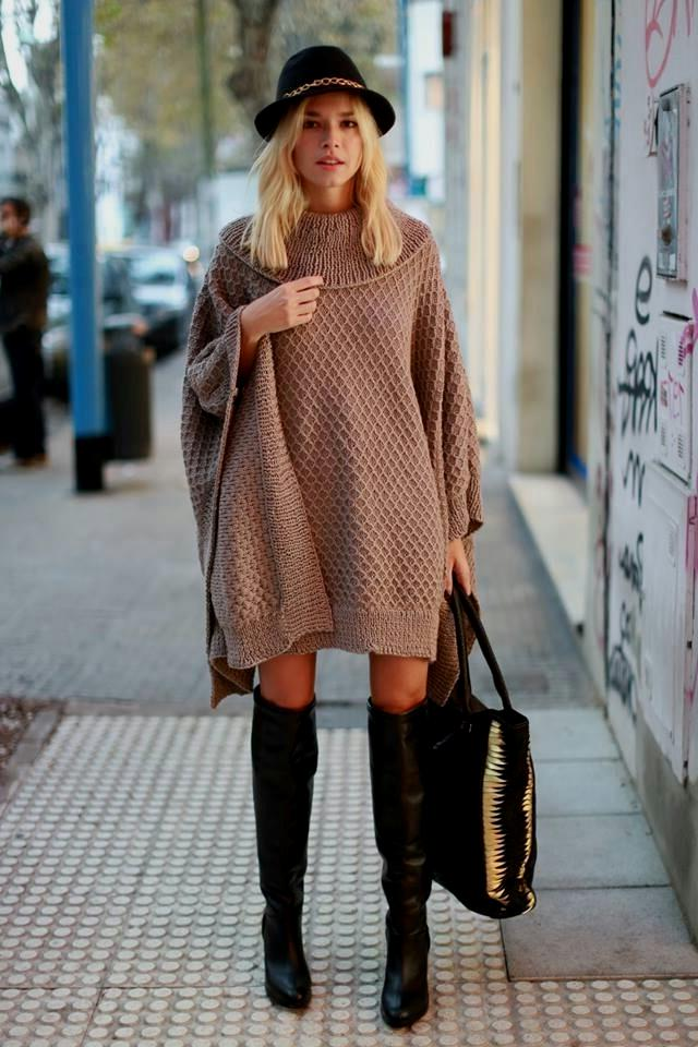 How To Wear Oversized Sweaters Style Wile