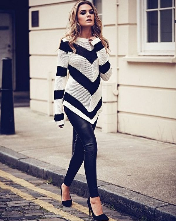 Cute Long Sweaters To Wear With Leggings