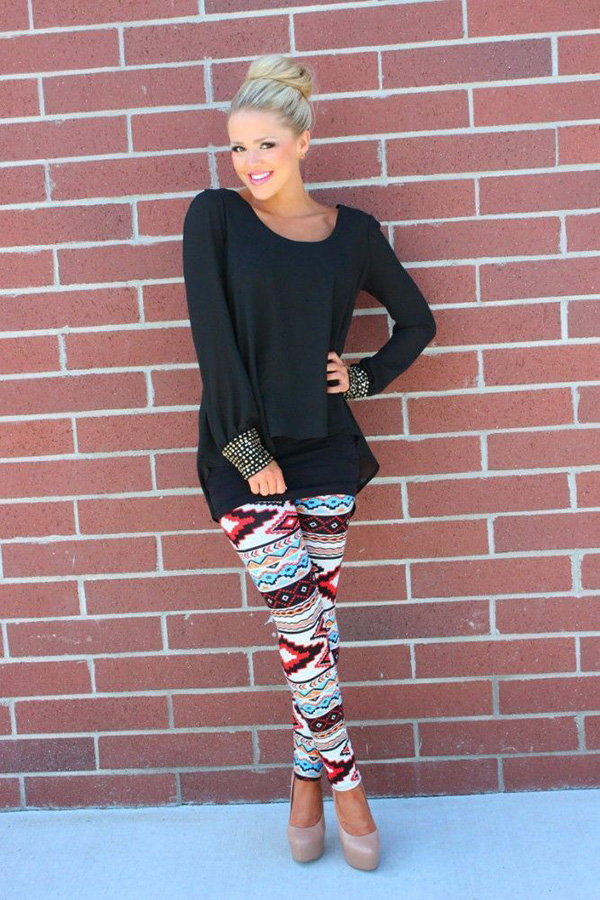 Tunic Tops to Wear over Leggings