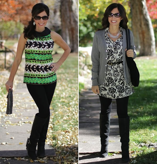 Tunics to Wear with Leggings