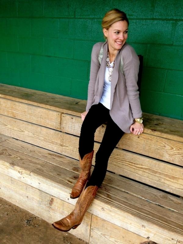 Women Wearing Cowboy Boots