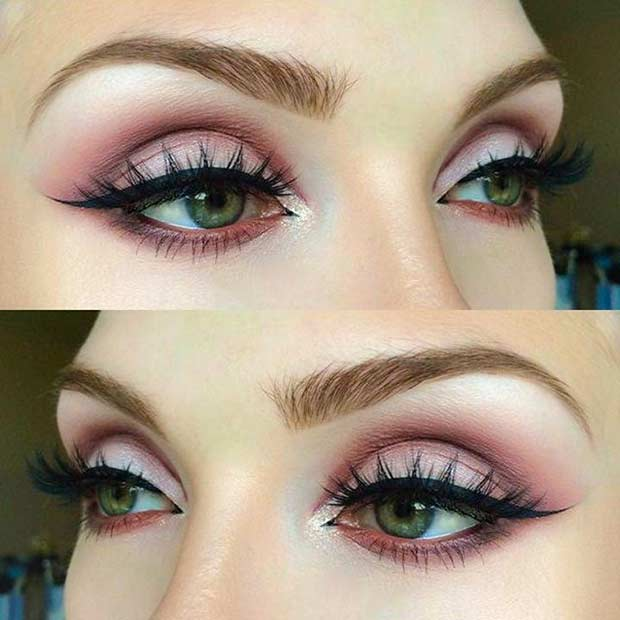 Best Eyeshadow for Green Eyes