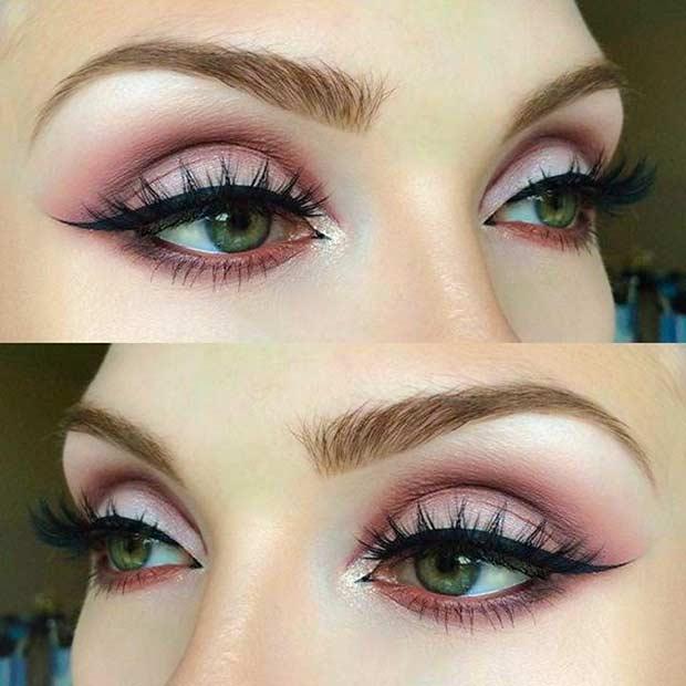 Best Eyeshadow for Green Eyes
