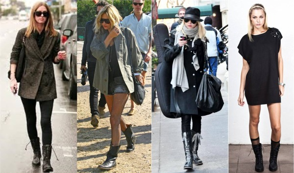 Combat Boots Outfits